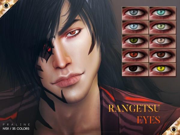 The Sims Resource: Rangetsu Eyes N131 by Pralinesims