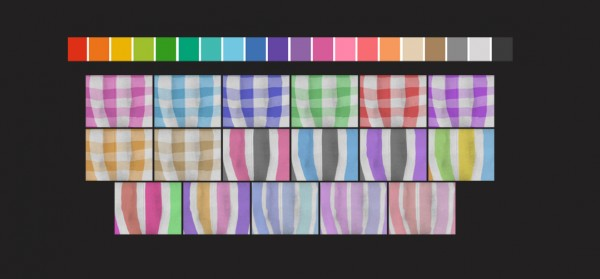 Simsworkshop: Pants Recolors, Solids and Patterns by maimouth