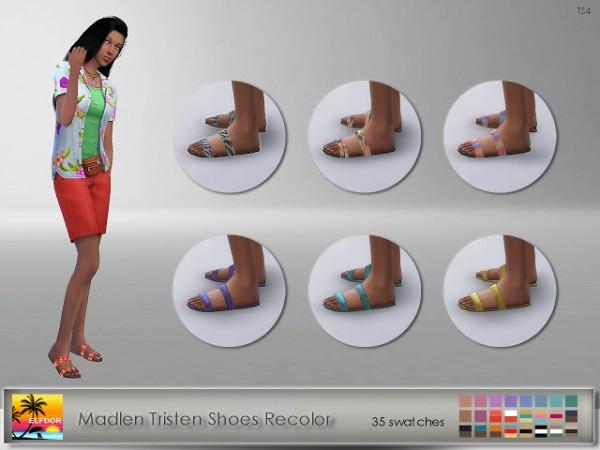 Elfdor: Madlen`s Tristen Shoes Recolor