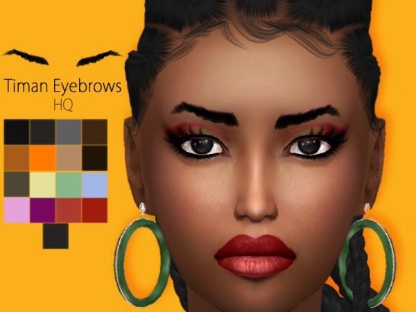 The Sims Resource: Sharareh Timan Eyebrows