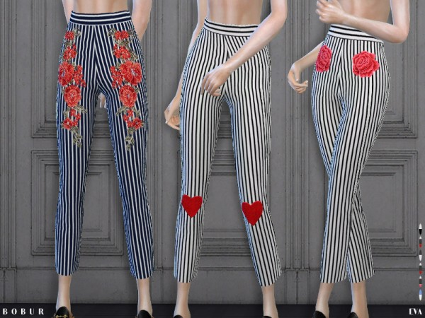 The Sims Resource Eva Pants By Bobur Sims 4 Downloads