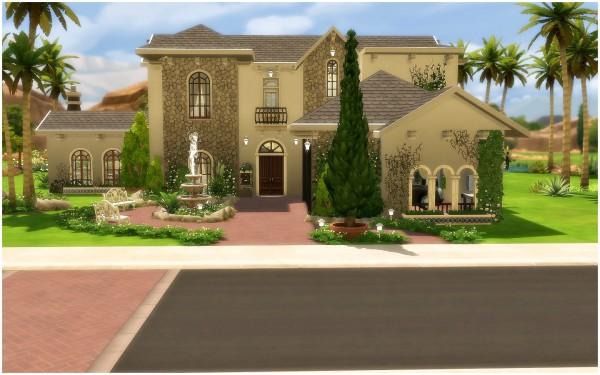 Via Sims: House 33   Mediterranean