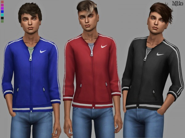 The Sims Resource: XLite Male Tops by Margeh 75