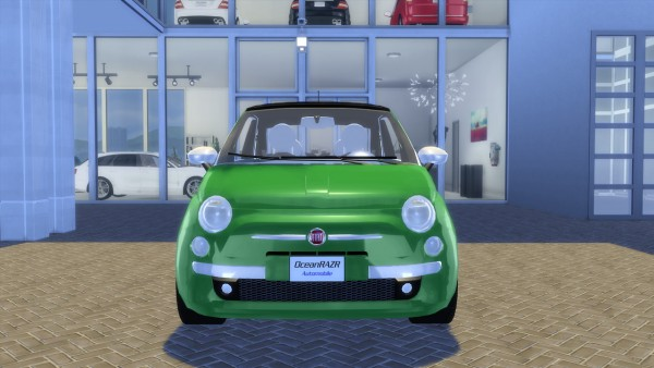 oceanrazr fiat 500 lounge 2008 sims 4 downloads. Black Bedroom Furniture Sets. Home Design Ideas