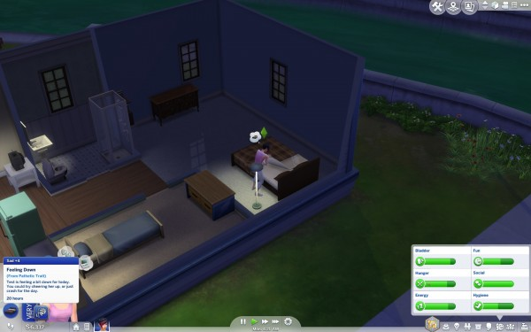 Mod The Sims: New Trait: Pathetic by Hadron1776