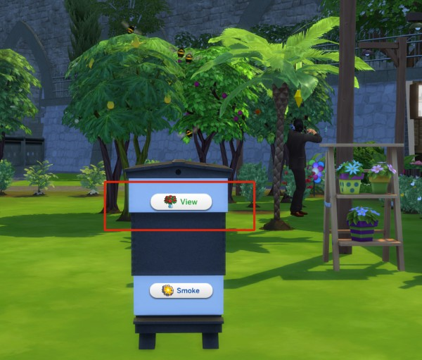 Mod The Sims: Functional Beekeeper Box by icemunmun