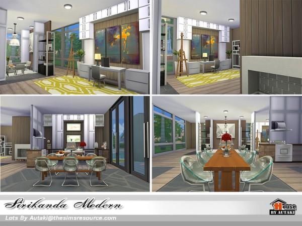 The Sims Resource: Sirikanda Modern No CC by Autaki