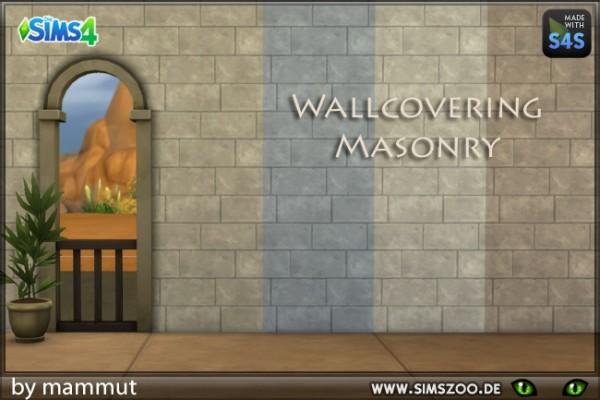 Blackys Sims 4 Zoo: Stone wall Early Civ 1 by mammut