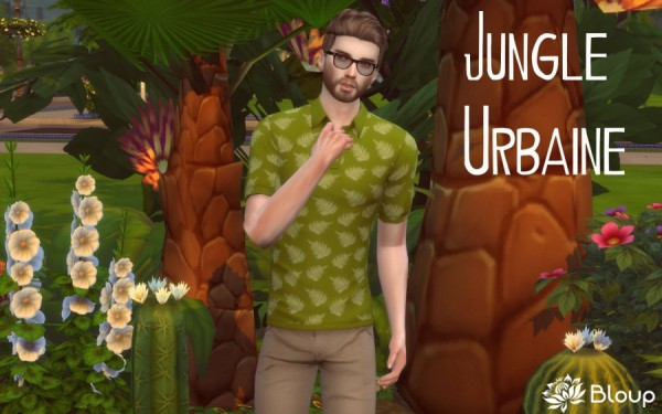Sims Artists Polo Jungle Urban Sims 4 Downloads