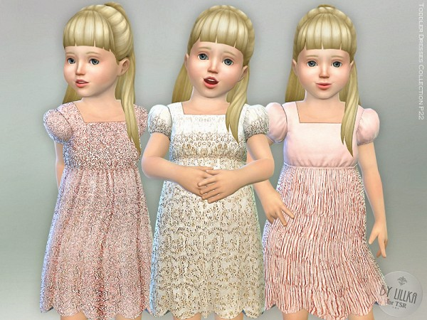 The Sims Resource: Toddler Dresses Collection P22 by lillka