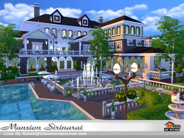 The Sims Resource Mansion Sirinarai By Autaki 4