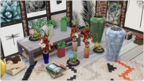 Annett`s Sims 4 Welt: Flower and Vases