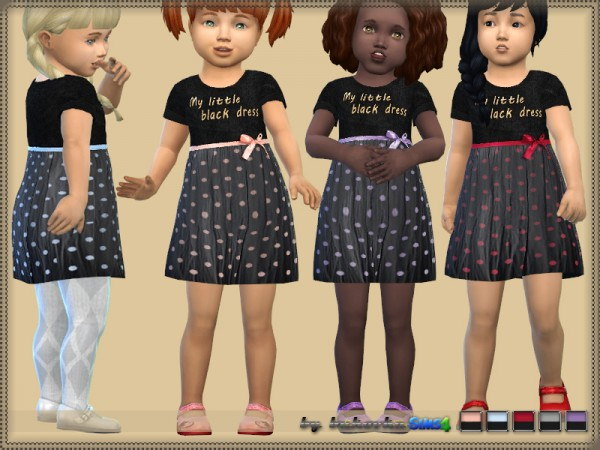 The Sims Resource: Black Dress by bukovka