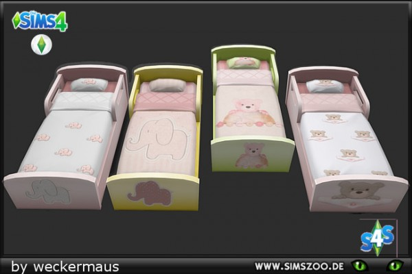 Blackys Sims 4 Zoo: Childrens beddings