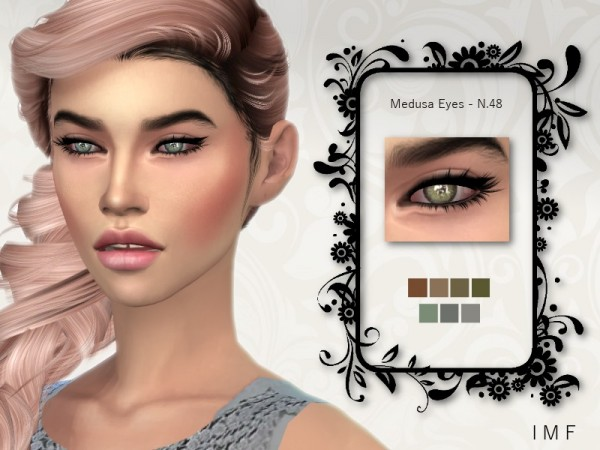 The Sims Resource: Medusa Eyes N.48 F/M by IzzieMcFire