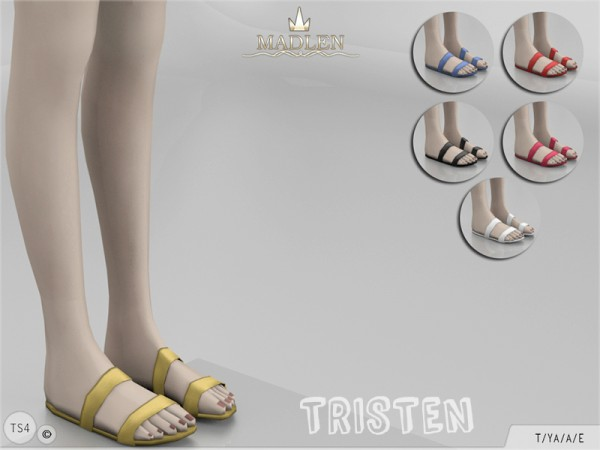 The Sims Resource Madlen Tristen Shoes By Mj95 Sims 4