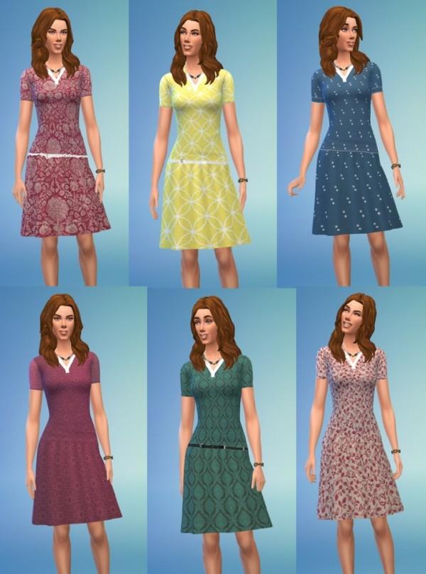Birkschessimsblog Vintage Dress Sims 4 Downloads