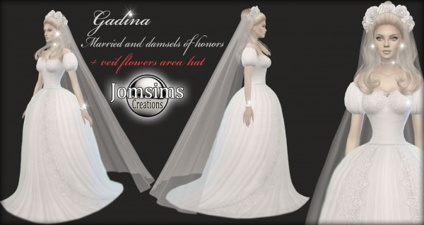 Jom Sims Creations: Gadinba wedding dress