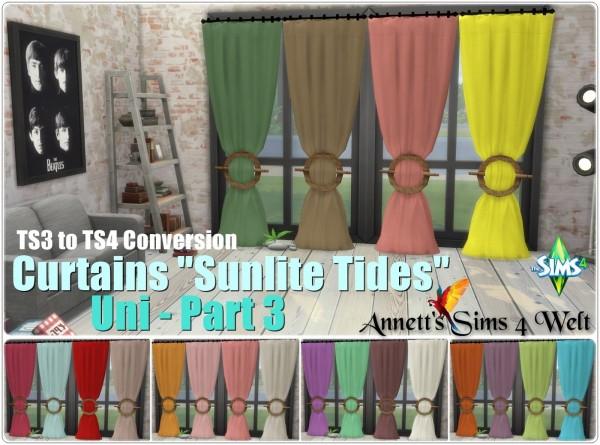 Annett`s Sims 4 Welt: Curtains Sunlite Tides   Uni Part 3
