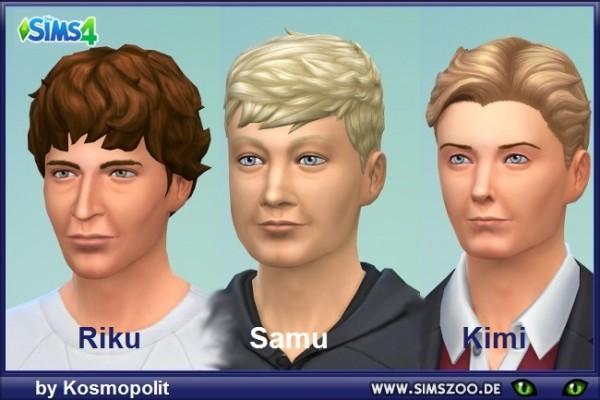 Blackys Sims 4 Zoo: Nordic trio by Kosmopolit