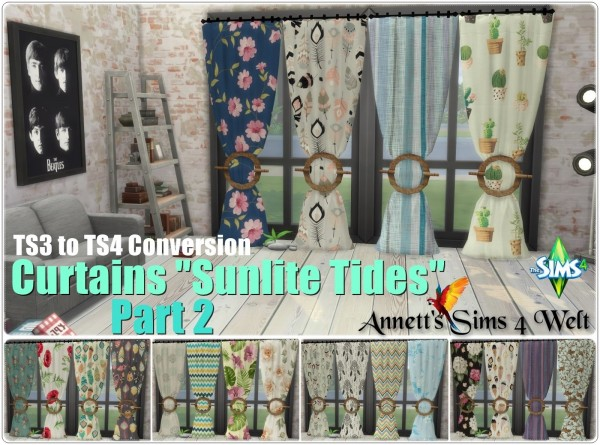 Annett`s Sims 4 Welt: Curtains Sunlite Tides   Part 2