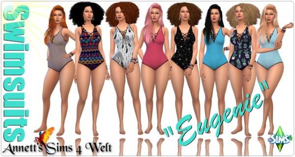 Annett`s Sims 4 Welt: Swimsuits Eugenie