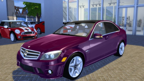 oceanrazr mercedes benz c63 amg 2010 sims 4 downloads. Black Bedroom Furniture Sets. Home Design Ideas