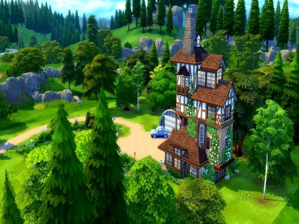 The Sims Resource: The Burrow house by audrcami