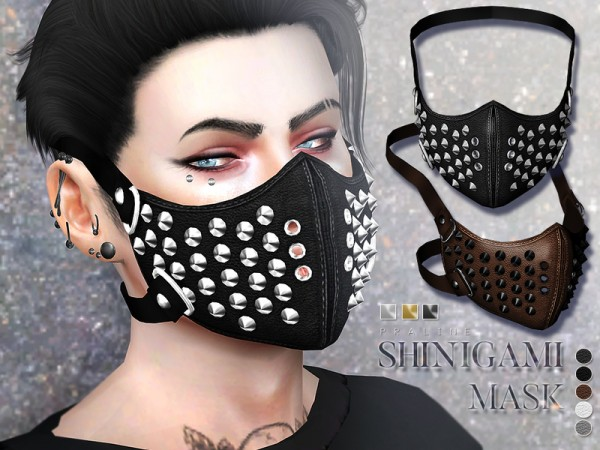 The Sims Resource: Shinigami Mask by Pralinesims