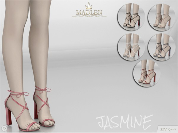 The Sims Resource: Madlen Jasmine Shoes by MJ95