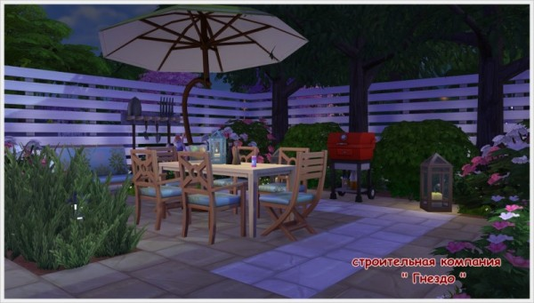 Sims 3 by Mulena: Our courtyard 1