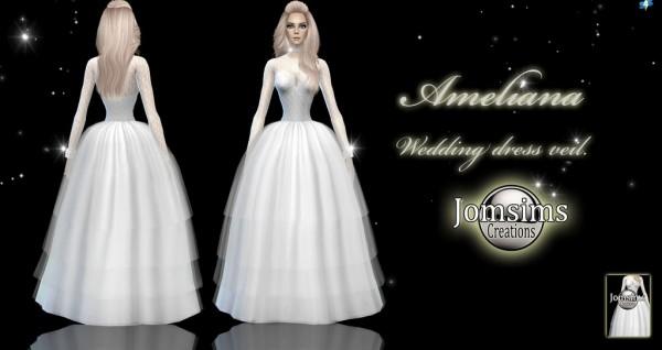 Jom Sims Creations: Ameliana wedding dress