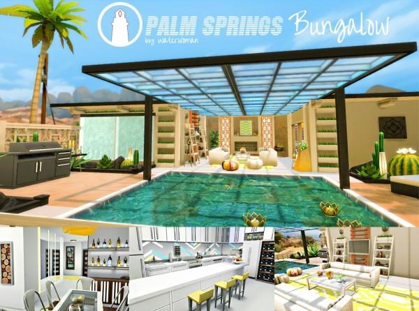 Akisima Sims Blog: Palm Springs Bungalow
