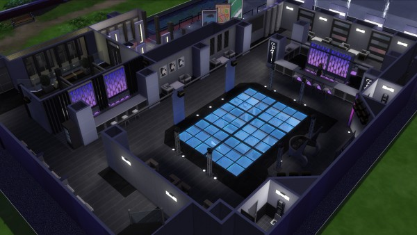 Mod The Sims Crystaline Nightclub No Cc By Analytic