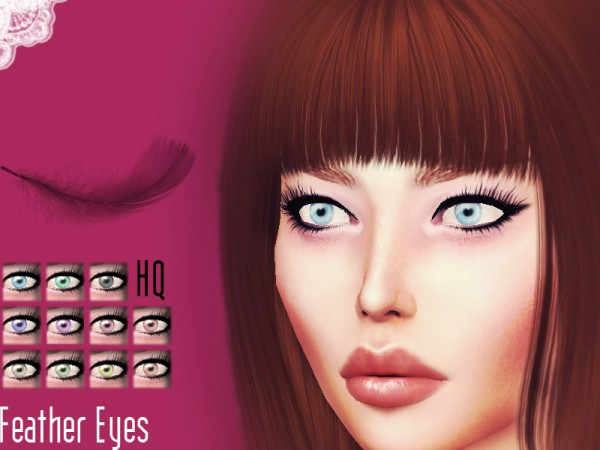 The Sims Resource: Feather Eyes by Sharareh