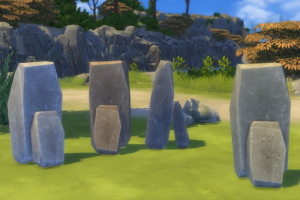 Blackys Sims 4 Zoo: Time stone by mammut
