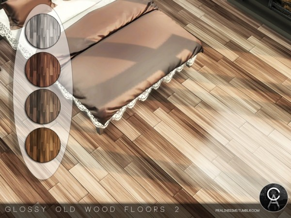 The Sims Resource: Glossy Old Wood Floors 2 by Pralinesims