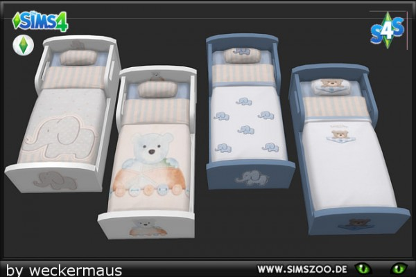 Blackys Sims 4 Zoo: Kids stuff Bedding KK Boy