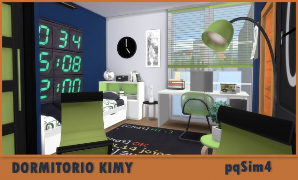 PQSims4: Kimy bedroom