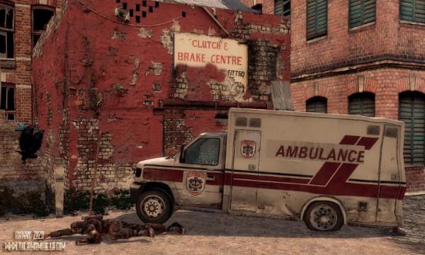 The Sims Models: Ambulance Wrecked by Granny Zaza