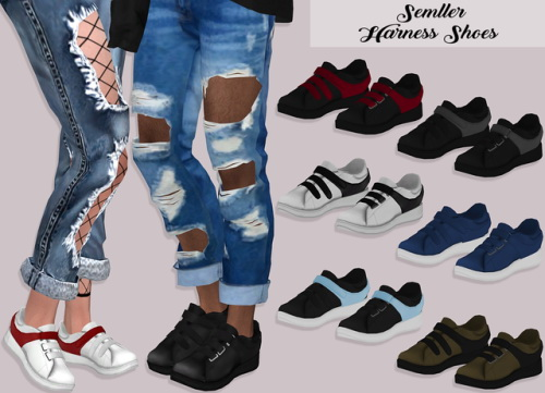 Lumysims Harness Shoes Sims 4 Downloads