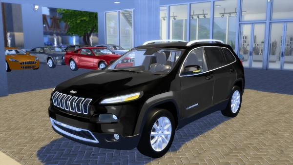 Oceanrazr Jeep Cherokee Limited 2015 Sims 4 Downloads