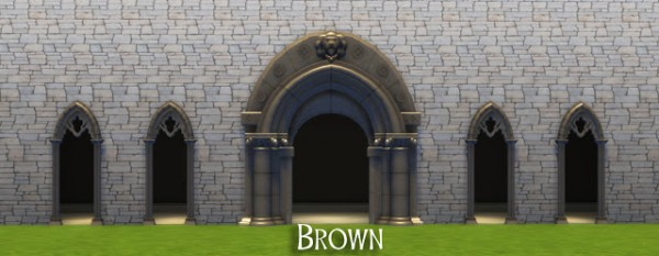 History Lover #39 s Sims Blog: Medieval arches • Sims 4 Downloads