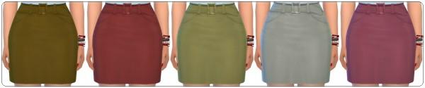 Annett`s Sims 4 Welt: Modern Skirt