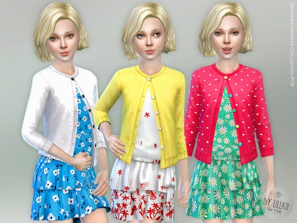 The Sims Resource: Designer Dresses Collection P78 by lillka