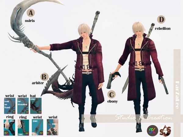 Studio K Creation: DMC outfit