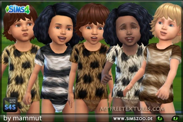 Blackys Sims 4 Zoo: Fur top 3 by mammut
