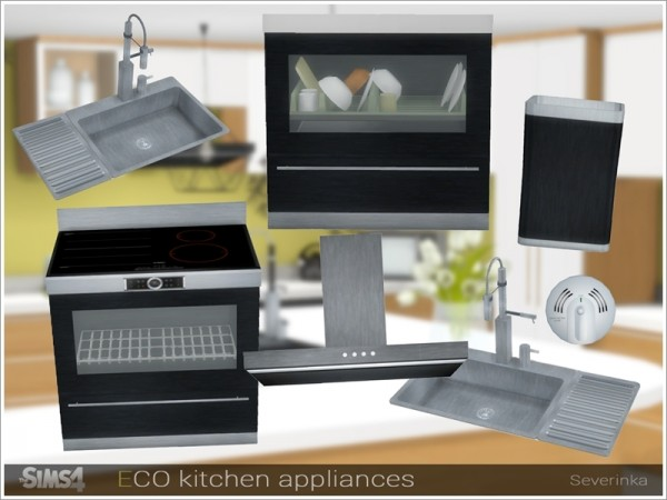 The Sims Resource Eco Kitchen Appliances By Severinka