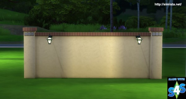 Simista: Lights for fences and columns