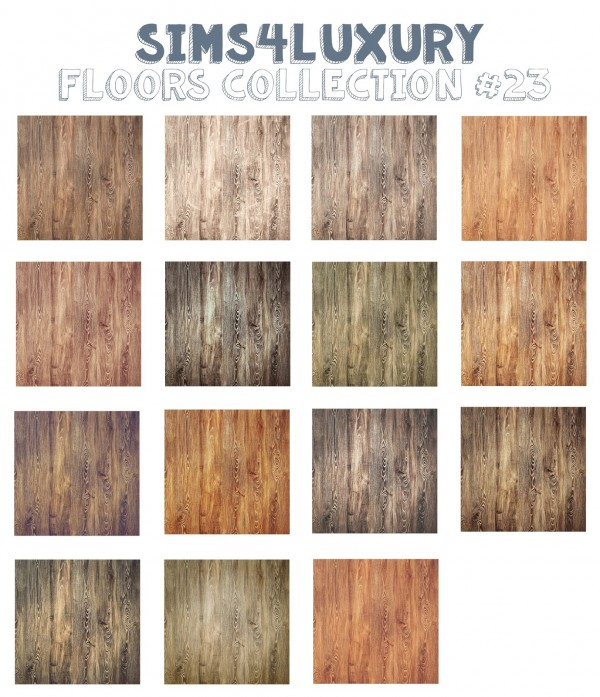 Sims4Luxury: Floors Collection 23